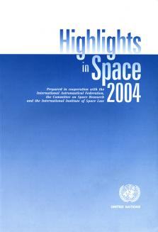 HIGHLIGHTS IN SPACE 2004