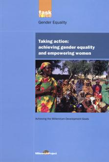 TAKING ACTION ACHIEVING GENDER