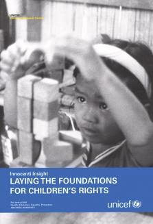 LAYING THE FOUNDATIONS FOR CHILDRE