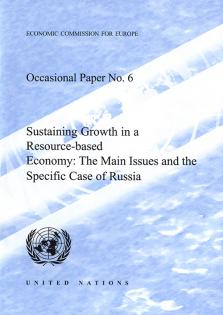 SUSTAINING GROWTH IN A RESOURCE