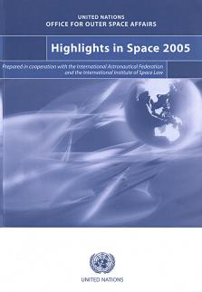 HIGHLIGHTS IN SPACE 2005