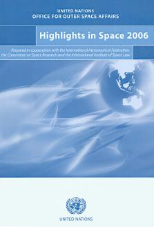 HIGHLIGHTS IN SPACE 2006