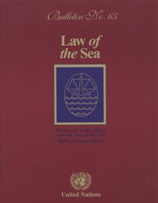 LAW OF THE SEA BULLETIN #65