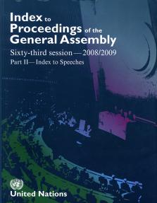 INDEX PROC GEN ASSEMBLY 2007/08 P2