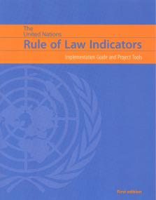 UN RULE LAW INDICATORS
