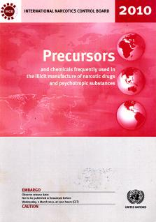 PRECURSORS CHEMICAL FREQ USED 2010