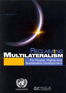RECLAIMING MULTILATERALISM