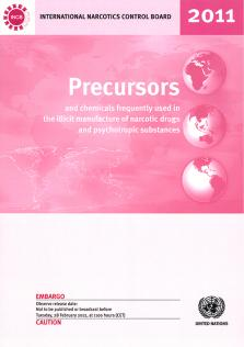 PRECURSORS CHEMICAL FREQ USED 2011