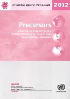 PRECURSORS CHEMICAL FREQ USED 2012