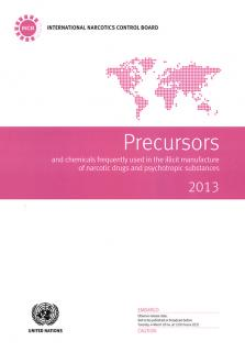 PRECURSORS CHEMICAL FREQ USED 2013