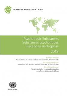 PSYCHOTROPIC SUBSTANCES STAT 2018