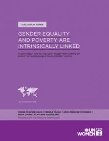 GENDER EQUALITY POVERTY INTRIN