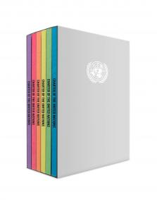 UN CHARTER & STAT ICJ 6 COLOR SET