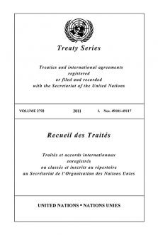 TREATY SERIES 2792