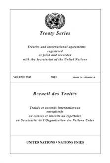 TREATY SERIES 2943
