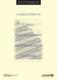 LEAGUE TABLE CHILD MALTREATMENT