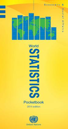 WORLD STATISTICS POCKETBOOK 2015