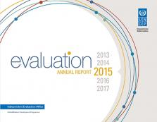 ANNUAL RPT ON EVALUATION 2015