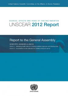 UNSCEAR RPT 2012 IONIZING RADIATIO