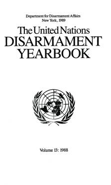 UN DISARMAMENT YRBK 1988 V13