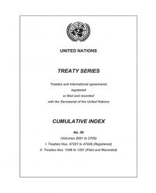 TREATY SERIES CUM INDEX #50