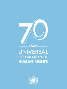UNIV DECLAR HUMAN RIGHTS 70TH