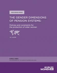 GENDER DIMENS PENSION SYSTEMS
