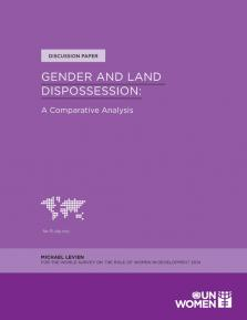GENDER & LAND DISPOSSESSION