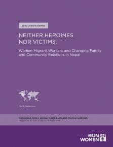 NEITHER HEROINES NOR VICTIMS