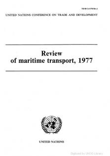 REVIEW MARITIME TRANS 1977