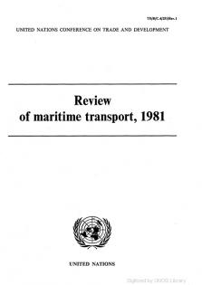 REVIEW MARITIME TRANS 1981