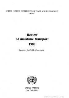 REVIEW MARITIME TRANS 1987