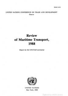 REVIEW MARITIME TRANS 1988