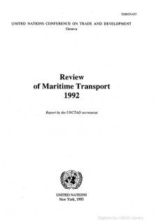 REVIEW MARITIME TRANS 1992
