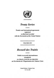 TREATY SERIES 1873