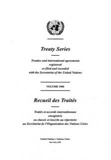 TREATY SERIES 1960