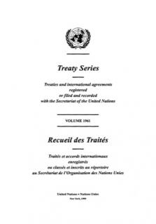 TREATY SERIES 1961
