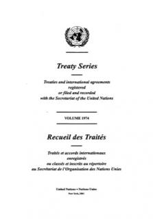 TREATY SERIES 1974