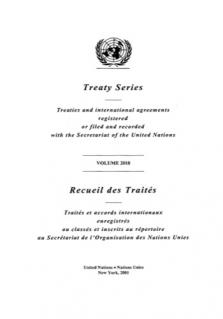 TREATY SERIES 2018
