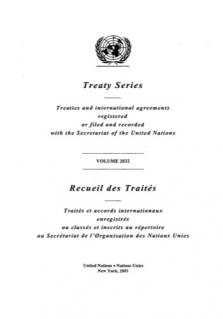 TREATY SERIES 2032