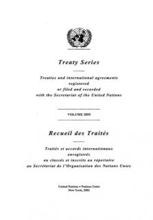 TREATY SERIES 2095 I 36442-36447