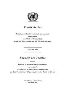 TREATY SERIES 2099 I 36488-36496