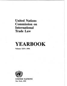 UNCITRAL YRBK 1994 V25 (CD)
