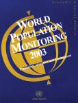 WORLD POPULAT MONITORING 2003