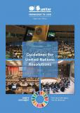GUIDELINES FOR UN RESOLUTIONS 2020
