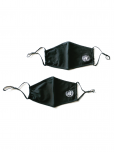 UN EMBLEM MASK - BLACK  - 2 PACK