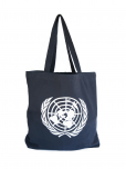 UN EMBLEM TOTE BAG - NAVY BLUE